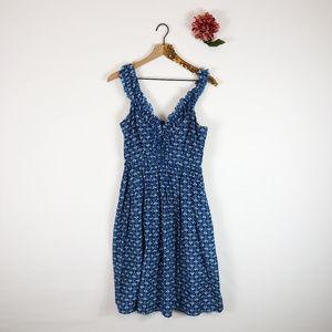 [BANANA REPUBLIC] Heritage Floral Cotton Dress